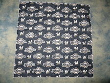 MLB MILWAUKEE BREWERS BASEBALL HEAD BANDANA / CHEERING CLOTH  22 1/2""