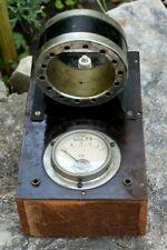 ancien et étonnant appareil Electrique voltmètre ampèremètre  autre ??