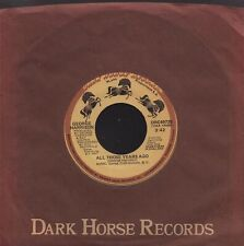 "GEORGE HARRISON: All Those Years Ago (´81 / orig. US 7"" / DARK HORSE)"