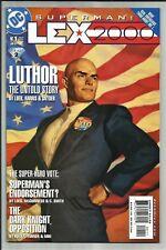 SUPERMAN: LEX 2000 #1 2001 ONE SHOT! BATMAN APP! JEPH LOEB SCRIPT! HIGH GRADE NM