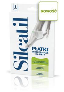 SILCATIL Exfoliating flakes heels  Platki zluszczajace na piety aflofarm