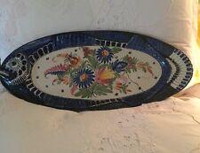 Antique France Fish Platter Henriot Quimper Decor Great Piece Collector Rare