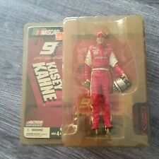Kasey Kahne - Nascar- Series 4-Action Figure By Mcfarlane- #9 Dodge-Mt Dew-2004