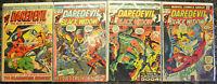 DAREDEVIL (4-Book) Comic LOT with #85, 94, 98, 102 (1972 | Marvel) Bronze Age