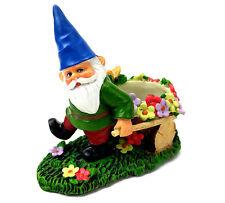 Yankee Candle Gnome Tea Light Holder with Wheelbarrow Garden