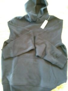 GAP Mens Hooded w/pockets Navy Sweatshirt Medium Mint w/tags FREE SHIPPING!
