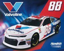 "2018 ALEX BOWMAN ""VALVOLINE BRISTOL"" #88 NASCAR MONSTER ENERGY CUP POSTCARD"