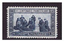 REGNO 1926 - SAN FRANCESCO  Lire 1,25  NUOVO ** LUSSO