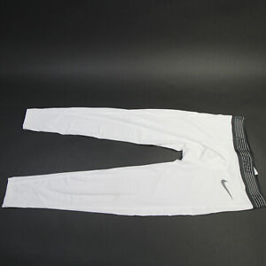 Indianapolis Colts Nike Pro  Compression Pants Men's White Used XL
