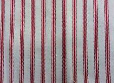 Telas y tejidos color principal blanco de rayas para costura y mercería