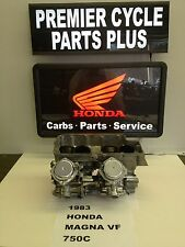 1983 HONDA MAGNA VF 750 C REMANUFACTURED KEIHIN CARBS CARBURETORS READY TO RUN