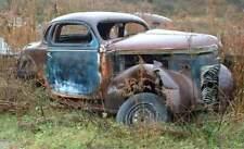 1937 Chrysler Royal Mopar Coupe rat hot rod project