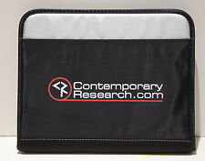 NWOT Gemline Contemporary Research Black Neoprene Zip Tablet Cover FS