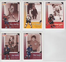 2003-04 , McDonald's , Pacific , Hockey Roots Checklists ,10 Card , Mini Set