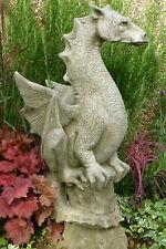 "Figur Skulptur Drache ""Halvard"" Pheeberts by Fiona Scott Steinguss Vidroflor"