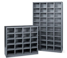Metal pigeon hole Shelving Unit steel shelving storage shelves office storage