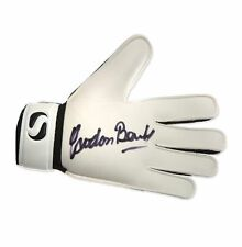 B Surname Initial Signed Football Gloves