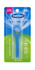DenTek Floss Threaders | Works with Braces Bridges and Implants | 50 Count
