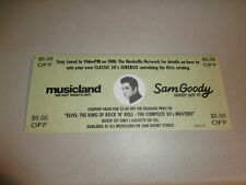 ELVIS PRESLEY~ ELVIS COUPON VALID FOR $5.00 OFF BOX SET 50'S MASTER~COLLECTABLES
