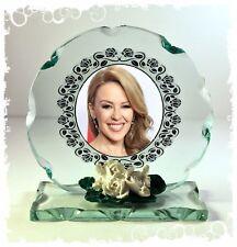 Kylie Minogue, loco-motion, photo verre taillé Rond Plaque Ltd Edition #8