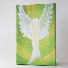 """Engelbild Leinwanddruck """"Die Engelliebe spüren"""" Engel Bilder, moderner Druck"""