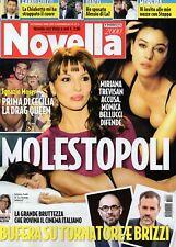 Novella 2017 47.Monica Bellucci,Luca Zingaretti-Luisa Ranieri,Fabio Fulco