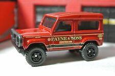 Matchbox Land Rover Ninety - Payne & Sons - Red - Loose - 1:64