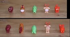 Lot de 5 figurines Kinder Animaux impossibles