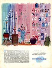 Seifenfabrik Steinfels Zürich XL Reklame 1949 von Fritz Bühler Seife Schweiz