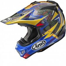 Arai MX-V Motocross Race Helmet Brock Tickle Replica Blue Adults Large 59-60cm