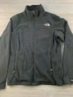 *The North Face Womens Fleece Jacket Size Small S Black Full Zip Pullover