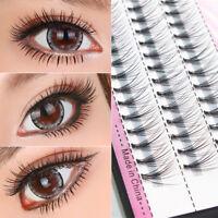 1Unechte Wimpern 5xPaar Damen Falsche künstliche Handgemacht-Eye Lashes Gifts
