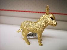 Schleich Esel 72145, Goldener Esel Gold Esel  Limitierte Auflage 2019
