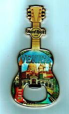 Hard Rock Cafe VENICE City Guitar Bottle Opener Magnet