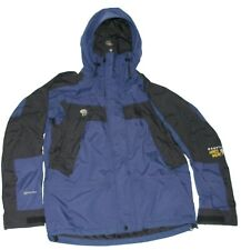 Mountain Hard Wear Conduit Ski Jacket Parka Dark Blue / Black Men XS X Small