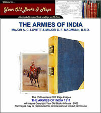 The Armies of India 1911 - A. C. Lovett CDROM Colour Plates