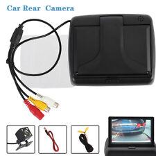 """Con cable HD coche inversión cámara 170 °+4,3 """"pantalla LCD monitor retrovisor"""