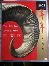 2003 Year of the Ram, Lunar Year, Canada Post Thematic Pack 115 (strbx3) (albm)