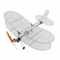 DIY Model Flyer Carbon Fiber Film RC Airplane Kit With Power System RC Plane Set