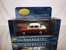 VANGUARDS VA06800 HILLMAN MINX - EMBER  RED + CREAM 1:43 - EXCELLENT IN BOX