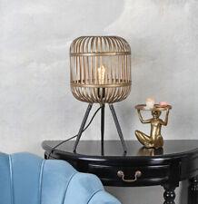 Tischlampe Industrial Vogelkäfig Leuchte Schutzkäfig Retro Lampe Leuchte Kupfer