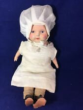 Vintage Composition Doll Crier Box 17""
