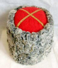 Real Russian Kuban Cossacks General Hat Karakul Tall Papakha Lamb Sheepskin Fur
