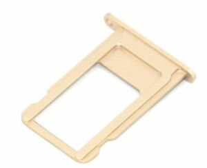 """Replacement  For Apple iPhone 6 4.7"""" Gold  SIM Card Tray Holder Slot"""