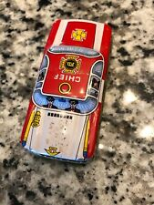 Old Tin Friction Toy Chief FD Car, Works