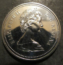 1873-1973 Silver Uncirculated Canadian One Dollar