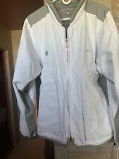 Tumi White Jacket/Coat Size Medium