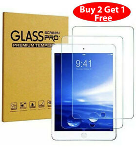 Premium Tempered GLASS Screen Protector for Apple iPad 8th Generation 2020 10.2