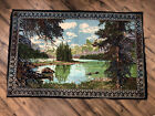 Vintage Yosemite Valley Tapestry Made In Turkey Wall Hanging 100% Cotton