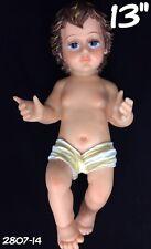 "Baby Jesus Nino Dios 13"" Inch Statue Religious Figure Nativity Bebe Jesus"